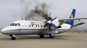 تحطم طائرة تدريب عسكرية إيرانية ومقتل طائرها ومساعده