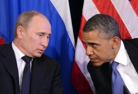 أوباما ناقش مع بوتين الوضع في سوريا وأوكرانيا
