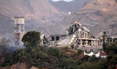 قصف صاروخي سعودي على مستشفى رازح لأطباء بلا حدود في صعدة