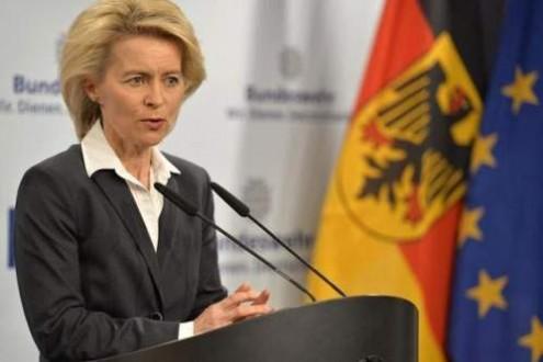 وزيرة الدفاع الألمانية: ألمانيا استقبلت حتى اليوم أكثر من مليون لاجئ