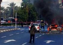 انفجار في تل ابيب