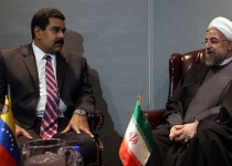 الرئيس روحاني مستقبلا مادورو