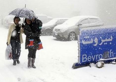 خاص-عاصفة جديدة تضرب لبنان ابتداءً من ليل الخميس وتنحسر السبت