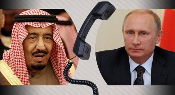 بوتين يدعو الملك سلمان لزيارة موسكو