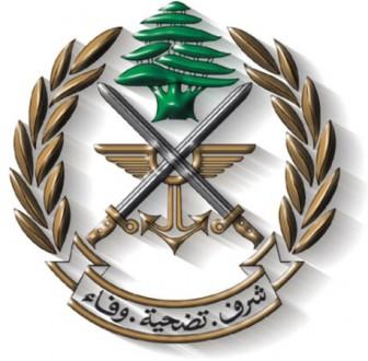 استخبارات الجيش تداهم منزل احد الموقوفين في مجدليون وتصادر كمية من الاسلحة