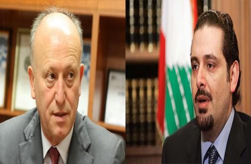 ريفي يرد على الحريري من أمام ضريح وسام الحسن