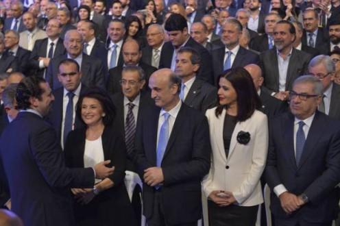 وصول الرئيس سعد الحريري الى معراب للقاء جعجع