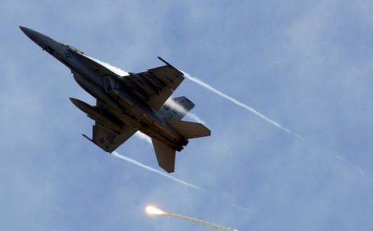 مقتل 22 عنصراً من داعش بقصف لطيران التحالف في ناحية البغدادي بالرمادي