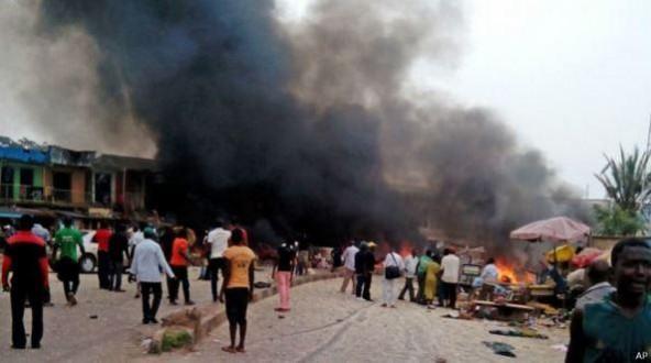 عشرات القتلى والجرحى بتفجير مزدوج قس أحد الأسواق شمالي الكاميرون