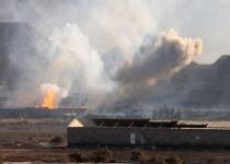 عدوان-على-اليمن-دخان-واثار-قصف