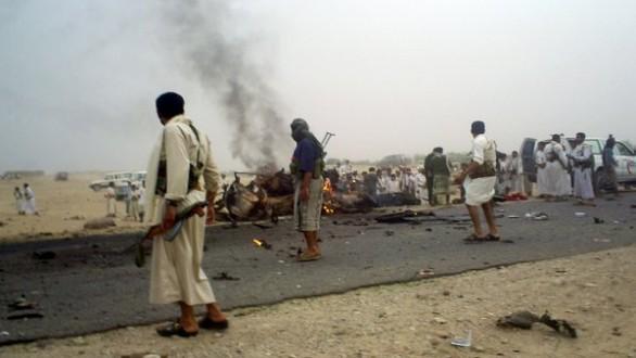 قتلى وجرحى بانفجار عبوة ناسفة في أحد أسواق مأرب في اليمن