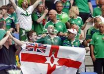 Football Soccer - Ukraine v Northern Ireland - EURO 2016 - Group C - Stade de Lyon, Lyon, France - 16/6/16 Northern Ireland fans before the match REUTERS/ Jason Cairnduff Livepic
