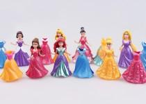 14-قطعة-الوحدة-واللباس-دمى-ديزني-طويل-سندريلا-سنو-وايت-الأميرة-8-سنتيمتر-فتاة-لعب-الاطفال