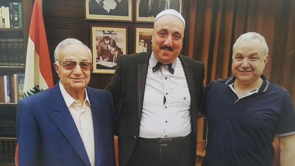 8bc8b1adb المر استقبل رئيس المرشدية الروحية العليا | Mulhak - ملحق أخبار لبنان ...