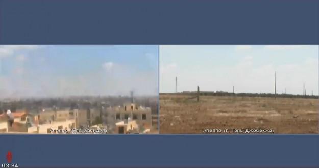 """عقب الهدنة.. الدفاع الروسية توثّق أوضاع حلب بـ """"بث مباشر"""""""