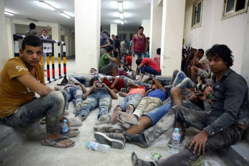 caceaefdb ارتفاع عدد غرقى مركب الهجرة غير الشرعية شمال مصر إلى 42 شخصاً ...