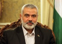 Ismail Haniya, Palestinian Hamas premier of Gaza, attends a meeting in Tehran during an official visit to Iran on February 10, 2012. AFP PHOTO/ATTA KENARE (Photo credit should read ATTA KENARE/AFP/Getty Images)