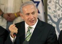 Israel's Prime Minister Benjamin Netanyahu speaks during the weekly cabinet meeting in the northern town of Safed October 30, 2011. REUTERS/Jack Guez/Pool (ISRAEL - Tags: POLITICS)
