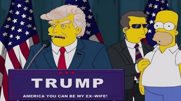 """بالفيديو: تنبؤات المسلسل الكرتوني """"عائلة سيمبسون"""" بشأن الإنتخابات الأميركية تتحقق بعد 16 عاما"""