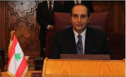 8d73932ed عزام ممثلا لبنان في اجتماعات مجلس الجامعة العربية على مستوى المندوبين في  الأردن