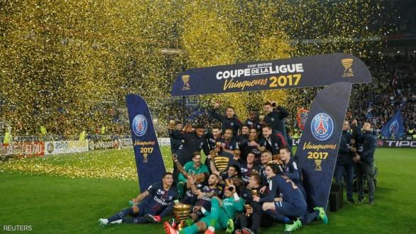 باريس سان جيرمان بطلا لكأس الرابطة للمرة الرابعة على التوالي