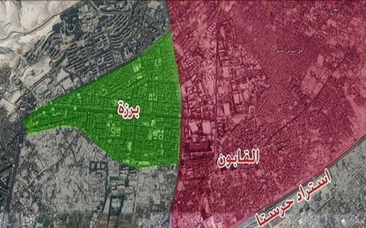"""خاص: الجيش السوري يسيطر على حي """"القابون"""" في دمشق"""
