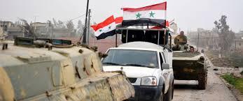 مراسل ملحق: الجيش السوري يتقدم بريف حمص الشرقي ويسيطر على محمية تليلة شرق تدمر