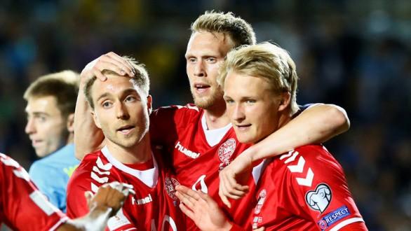 الدنمارك تهزم كازاخستان بالثلاثة في تصفيات كأس العالم
