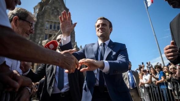 انتخابات فرنسا.. حزب ماكرون يفوز بالجولة الأولى