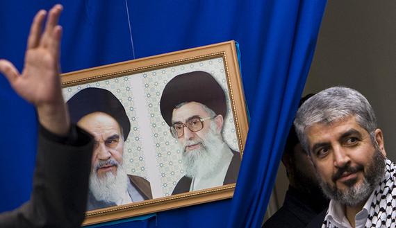 حماس، إلى إيران در!