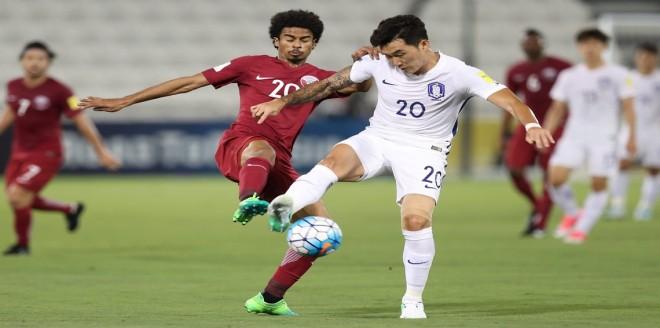 قطر تهزم كوريا الجنوبية في تصفيات المونديال