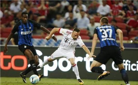 إنتر ميلان يهزم بايرن ميونيخ في كأس الأبطال