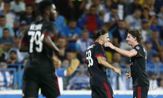 ميلان يسجّل أول فوز له في الدوري الأوروبي