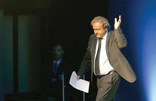 رفض طعن بلاتيني ضد إيقافه من قبل الفيفا