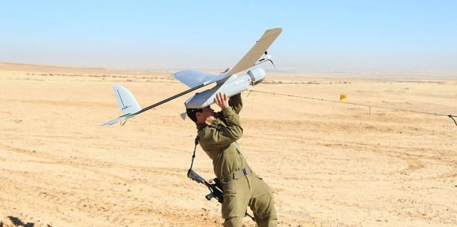 سقوط طائرة إسرائيلية بدون طيار جنوب قطاع غزة