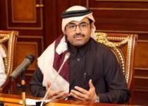 وزير الطاقة القطري محمد السادة يتحدث لممثلي وسائل إعلام في الدوحة يوم 8 فبراير شباط 2017. تصوير: نسيم زيتون - رويترز.