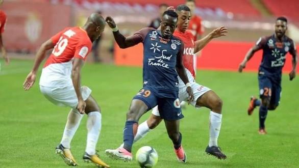 """مونبيلييه يحرم موناكو من صدارة الدوري الفرنسي بـ """"تعادل قاتل"""""""