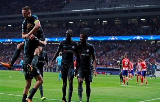 دوري الأبطال: تشيلسي يهزم أتلتيكو مدريد بالوقت القاتل.. وفوز أول لروما