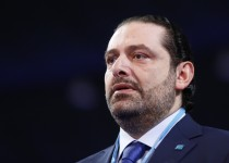 "BEIRUT, LEBANON - NOVEMBER 26: Saad Hariri, former Prime Minister of Lebanon and the leader of the Future Movement party, attends the ""2nd General Assembly meeting of Future Movement party"" in Beirut, Lebanon on November 26, 2016.  (Photo by Ratib Al Safadi/Anadolu Agency/Getty Images)"