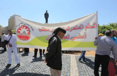 0488a03a7 اتحاد النقابات العمالية: الإضراب المفتوح حتى إلغاء تعميم الحريري ...