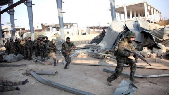 ملحق – الجيش السوري يستكمل تقدمه بريف دمشق ويسيطر على منطقة المنبج