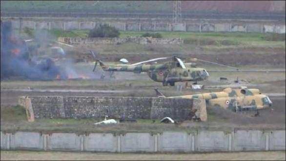 مراسل ملحق: الجيش السوري سيدخل الليلة إلى مطار أبو الضهور العسكري بريف إدلب