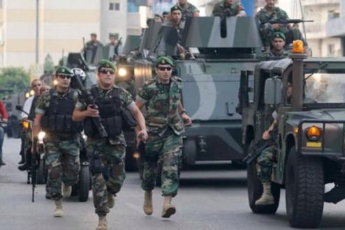 7f66ebcba إطلاق نار على آلية للجيش اللبناني من قبل مجهولين | Mulhak - ملحق ...