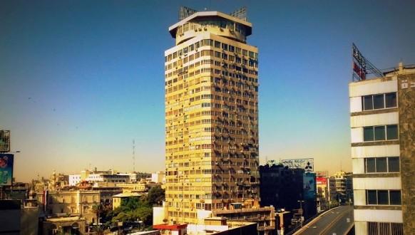 ملحق ـ قذيقة صاروخية تصيب برج دمشق