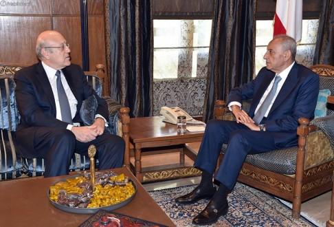 الرئيس برّي يستقبل السفير الإيراني.. وميقاتي يؤكد بعد لقائه تأييد إنتخابه رئيساً للمجلس