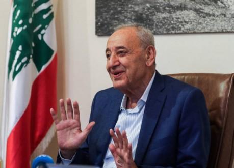 بري يعايد اللبنانيين بعيد الفطر ويعتذر عن تقبل التهاني
