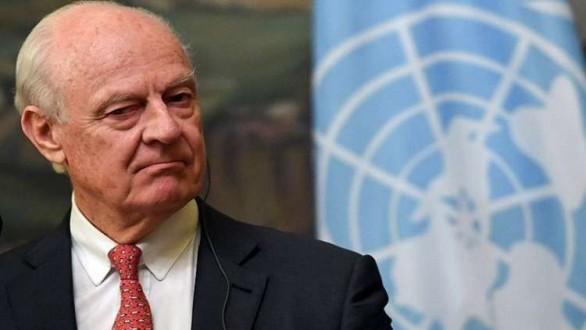 دي ميستورا يعلن عن اجتماع لمناقشة تشكيل اللجنة الدستورية السورية