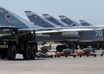 Russian military jets are seen at Hmeymim air base in Syria, June 18, 2016. Picture taken June 18, 2016. REUTERS/Vadim Savitsky/Russian Defense Ministry via Reuters ATTENTION EDITORS - THIS IMAGE WAS PROVIDED BY A THIRD PARTY. EDITORIAL USE ONLY.     TPX IMAGES OF THE DAY
