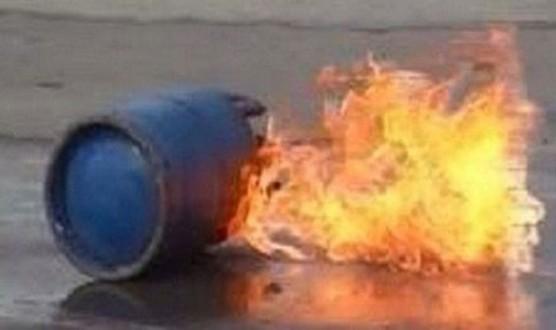 اصابة شابين بجروح وحروق بانفجار قارورة غاز في عكار