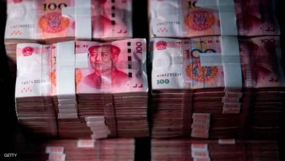 إحتياطي النقد الأجنبي بالصين يتراجع أكثر من المتوقع